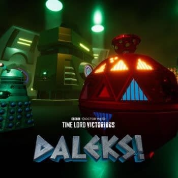 Doctor Who animated series Daleks! wraps up this week (Image: BBC)