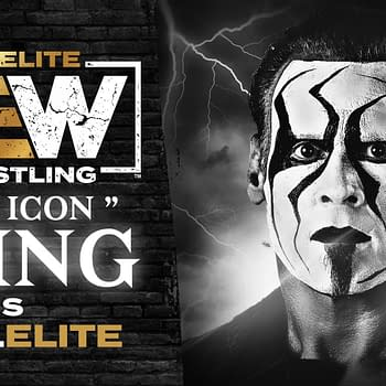 Sting is now a part of AEW (Image: AEW key art)