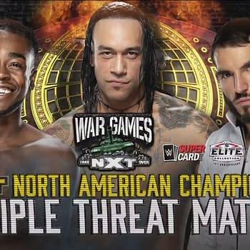 WWE NXT WarGames 2020 official key art (Image: WWE)