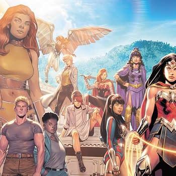Becky Cloonan Michael Conrad Travis Moore Join Wonder Woman #770
