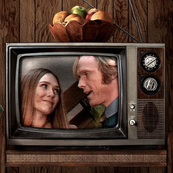 WandaVision Key Art: Even 70s Wood Paneling Cant Hold Back Reality