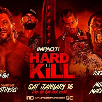Kenny Omega Attacks Rich Swann on Impact Match Set for Hard to Kill