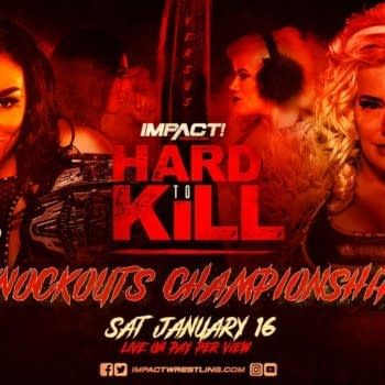Deonna Purrazzo will defend the Knockouts Championship against Taya Valkyrie at Impact Wrestling's Hard to Kill PPV on January 16th