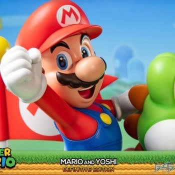 Super Mario and Yoshi Team Up Once Again with First 4 Figures