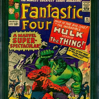 Fantastic Four #25 Hulk Vs Thing On Auction At ComicConnect