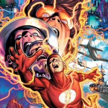 Jeremy Adams and Brandon Peterson on Flash #768 in March 2021
