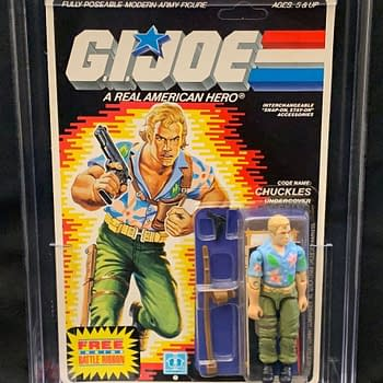 GI Joe Favorite Chuckles Figure Up For Auction At Comic Connect