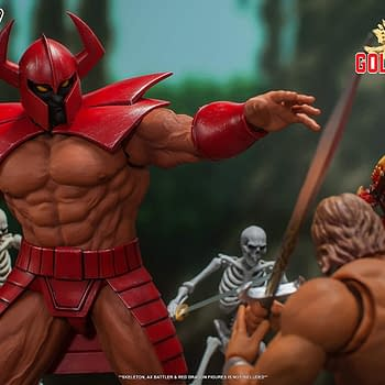Golden Axe Death Adder Gets Boss Level Figure from Storm Collectibles