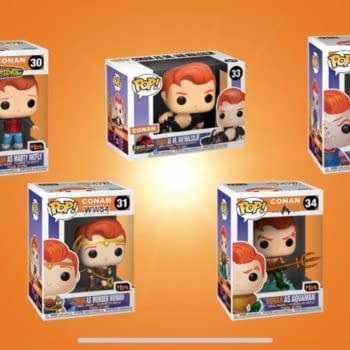 Conan Giving Away 5 Limited Edition Themed Pops from Funko