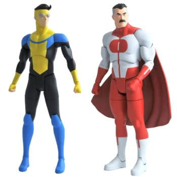 Diamond Select Toys Unveils Invincible Figures Comic Soon