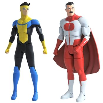 Diamond Select Toys Unveils Invincible Figures Comic Soon
