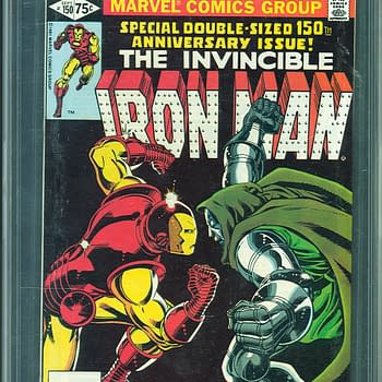 Classic Iron Man/ Doctor Doom Story On Auction At ComicConnect