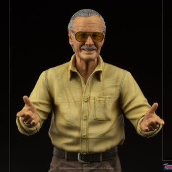 "Stan Lee Stands 23"" Tall With New Statue from Iron Studios"
