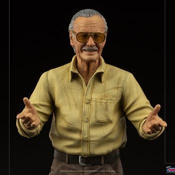 Stan Lee Stands 23 Tall With New Statue From Iron Studios