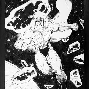 Jim Lee Superman Wizard Cover Art Taking Bids At ComicConnect