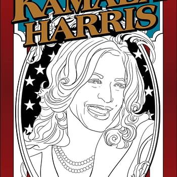 America Celebrates Kamala Harris Coloring Book From Antarctic Press