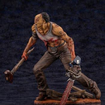 Dead by Daylight The Hillbilly is On The Hunt With Kotobukiya