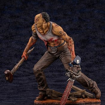 Dead by Daylight The Hillbilly is On The Hunt With Kotobukiya