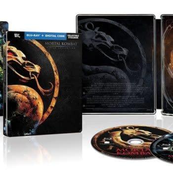 Mortal Kombat Film Two Pack Steelbook Hitting Best Buy In January