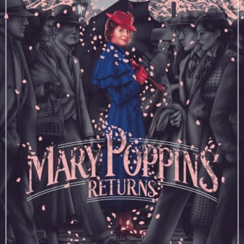 Mondo Releasing A Gorgeous Mary Poppins Returns Poster Tomorrow