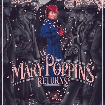 Mondo Releasing Gorgeous Mary Poppins Returns Poster Tomorrow