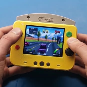 Someone Made A Handheld Version Of The Nintendo 64