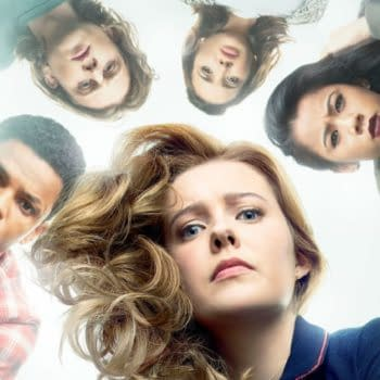Nancy Drew -- Image Number: NCD_S2_8x12.jpg -- Pictured (Clockwise from Top): Madison Jaizani as Bess, Leah Lewis as George, Kennedy McMann as Nancy, Tunji Kasim as Nick and Alex Saxon as Ace -- Photo: Nino Muñoz/The CW -- © 2020 The CW Network, LLC. All Rights Reserved.