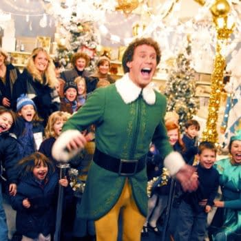 Elf is the subject of an episode of The Holiday Movies That Made Us (Image: Netflix)