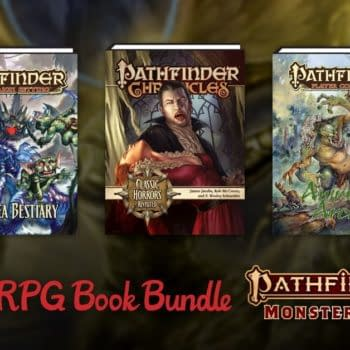 Humble Bundle Is Offering Up Pathfinder Monster Lore By Paizo