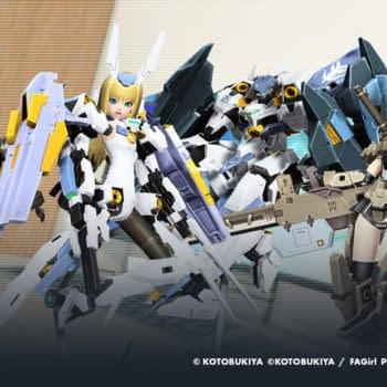 Phantasy Star Online 2 Announces Frame Arms Collaboration