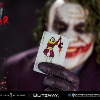 The Joker From The Dark Knight Is Back with Prime 1 Studios