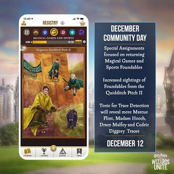 Harry Potter: Wizards Unite December 2020 Community Day Review