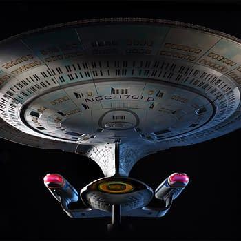 Build the Star Trek U.S.S. Enterprise-D With Hero Collector