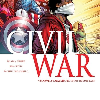 Marvels Snapshots: Civil War Jumps To $29 On eBay