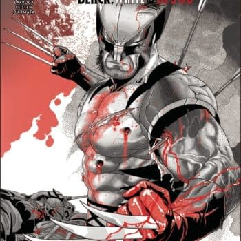 The cover to Wolverine: Black, White, & Blood #2