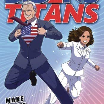 Joe Biden's Titans Coming To Comics in March 2021