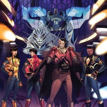 Mighty Morphin #1 and Power Rangers #1 Get Third Printings