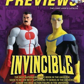 Snyder & Daniel's Nocterra & Invincible Toys - Diamond Previews Cover