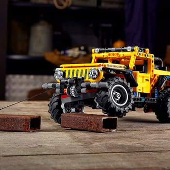 LEGO Unveils New LEGO Technic 4&#2154 Jeep Wrangler Set