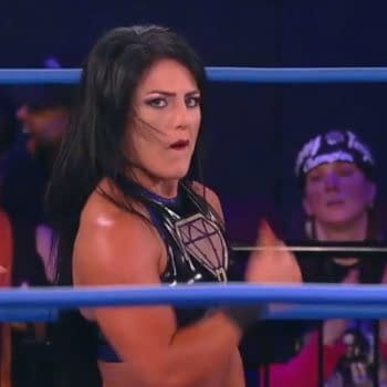 Tessa Blanchard wrestles for Impact Wrestling