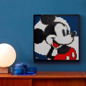 LEGO Unveils New Buildable Disney Art Featuring Mickey Mouse