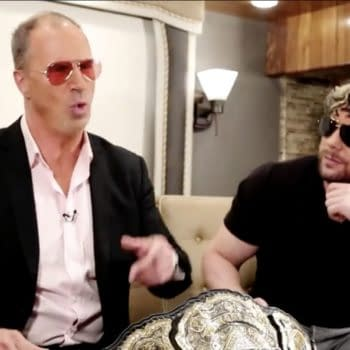 Kenny Omega appears on Impact Wrestling with Don Callis and the AEW Championship