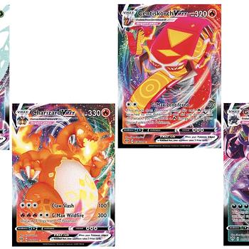 The Pokémon VMAX Cards of Pokémon TCG: Darkness Ablaze Part 1