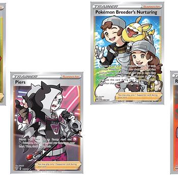 The Full Art Trainer Cards Of Pokémon TCG: Darkness Ablaze