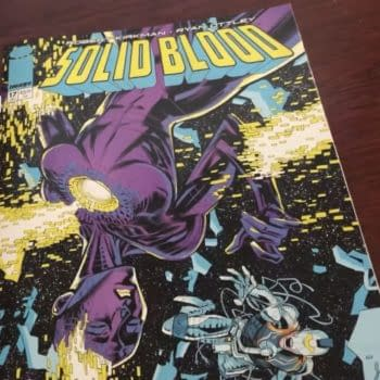 Solid Blood #17 Is By Robert Kirkman and Ryan Ottley, Out Next Week