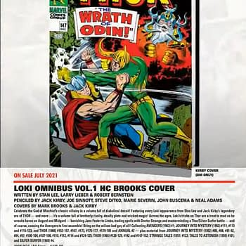Loki Gets An Omnibus Series And Others For 2021