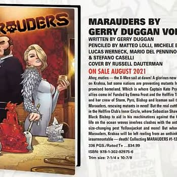 Dawn Of X Comics Get Over-Sized Hardcovers &#8211 Marauders and Excalibur