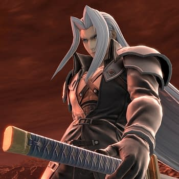 Final Fantasys Sephiroth Comes To Super Smash Bros. Ultimate