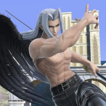 Nintendo Shows Off More Of Sephiroth In Super Smash bros. Ultimate