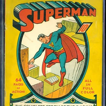 Superman #1 CGC Copy Up For Auction Today At ComicConnect